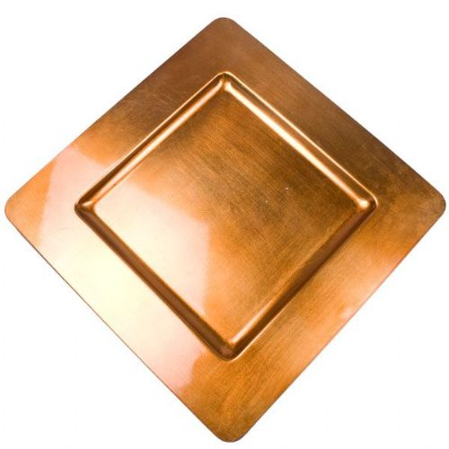 ORANGE Square Charger Plate / Underplate